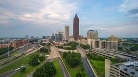 Atlanta, Georgia, USA downtown and midtown