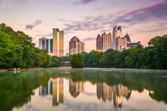 Atlanta, Georgia, USA Midtown Skyline royalty free stock image