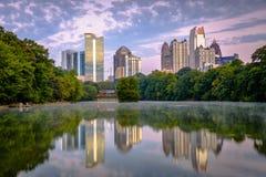 Atlanta, Georgia, USA Midtown Skyline stock photos