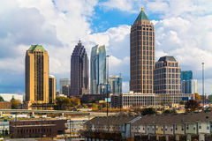 Atlanta, Georgia, USA. Skyline of downtown Atlanta, Georgia, USA Royalty Free Stock Photography