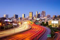 Atlanta, Georiga Cityscape Stock Image