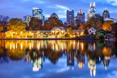 Atlanta, Georiga Cityscape Stock Photos