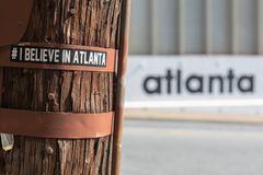 Atlanta: het kapitaal van het Nieuwe Zuiden stock foto's