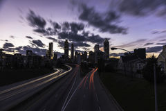 Atlanta himlar Royaltyfria Foton