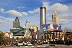 Atlanta Home of Coca-Cola Royalty Free Stock Photography