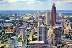 Atlanta horisont Royaltyfri Fotografi