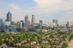 Atlanta horisont, USA Arkivbilder
