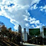 Atlanta i nedgången Royaltyfri Foto