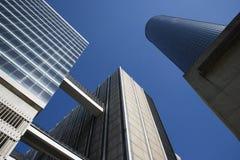 atlanta i stadens centrum skyskrapor Arkivbilder