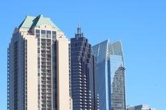 Atlanta im Stadtzentrum gelegen Lizenzfreies Stockbild