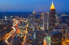 Atlanta la Géorgie images libres de droits