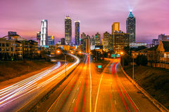 Atlanta, la Géorgie, Etats-Unis Images stock