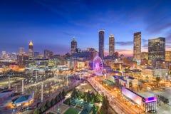 Atlanta, la Géorgie, Etats-Unis Dawn Skyline image stock