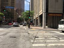 Atlanta, la Géorgie, la vie de ville du centre de GA photos stock