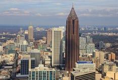 Atlanta linia horyzontu, bank amerykański Obraz Royalty Free