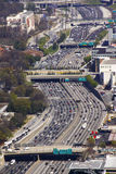Atlanta - Midday Traffic Congetion Stock Photography