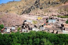 atlanta Morocco gór wioska Zdjęcia Royalty Free