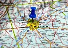 Atlanta negli S.U.A. Fotografia Stock Libera da Diritti