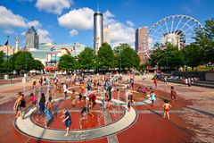 Atlanta Park Royalty Free Stock Images