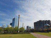 Atlanta Park. Memorial for the Atlanta Olympics Royalty Free Stock Photo