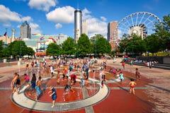 Atlanta parkerar Royaltyfria Bilder