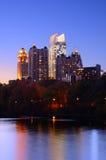 Atlanta From Piedmont Park Royalty Free Stock Photos