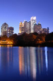 Atlanta From Piedmont Park Stock Photos