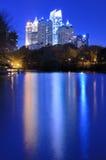 Atlanta From Piedmont Park Stock Photos