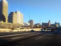 Atlanta podczas dzień przejażdżki fotografia stock
