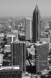 Atlanta preto e branco Fotografia de Stock