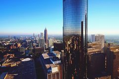 Atlanta& x27 ; réflexion de s photo stock
