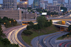 Atlanta rush hour Royalty Free Stock Photography