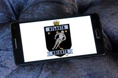 Atlanta rycerzy drużyny hokejowej lodowy logo Zdjęcia Stock