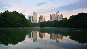 Atlanta's Piedmont Park Royalty Free Stock Images