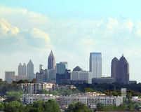 Atlanta Sky Royalty Free Stock Photography