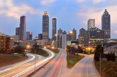 Atlanta Skyline stock photography