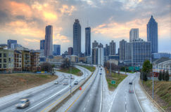 Atlanta Skyline Stock Photography