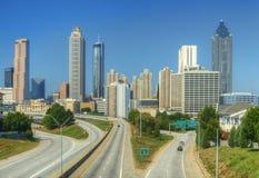 Atlanta Skyline Royalty Free Stock Photo