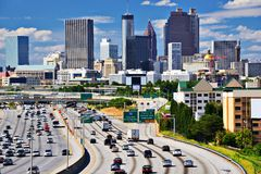 Atlanta-Skyline stockbild