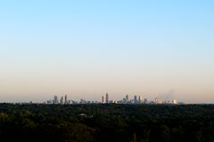 Atlanta Skyline Stock Image