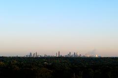 Atlanta Skyline Stock Image