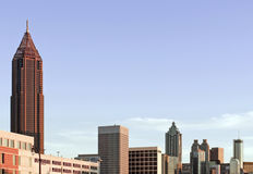Atlanta Skyline Royalty Free Stock Image