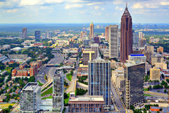 Atlanta Skyline Royalty Free Stock Photography