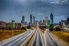 Atlanta Skyline Royalty Free Stock Photo