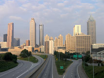 Atlanta Skyline Morning Royalty Free Stock Photo