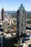 Atlanta skyskrapor Arkivfoton