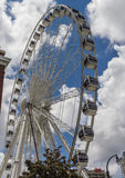 Atlanta Skyview Ferris Wheel Images libres de droits