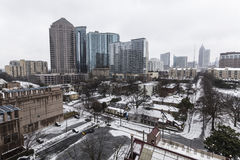 Atlanta Snow Storm Stock Photos