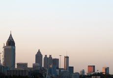 Atlanta-Sonnenaufgang Lizenzfreies Stockfoto
