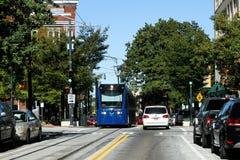 Atlanta spårvagn Royaltyfria Bilder